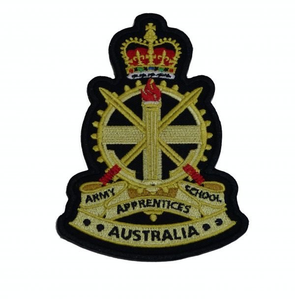 AAS CLOTH BADGE